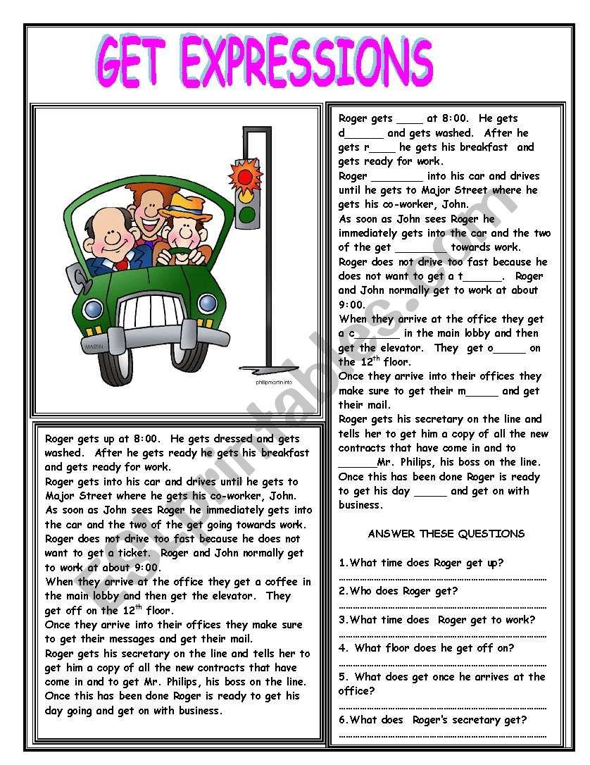 GET EXPRESSIONS worksheet