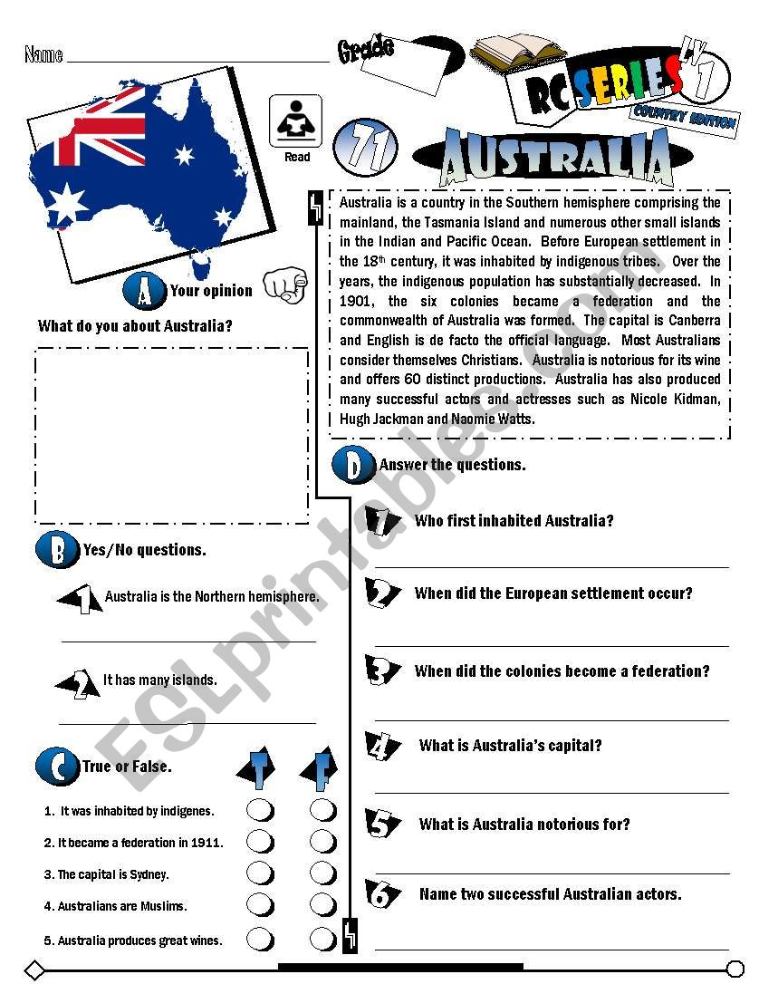 RC Series_Level 01_Country Edition_71 Australia (Fully Editable)