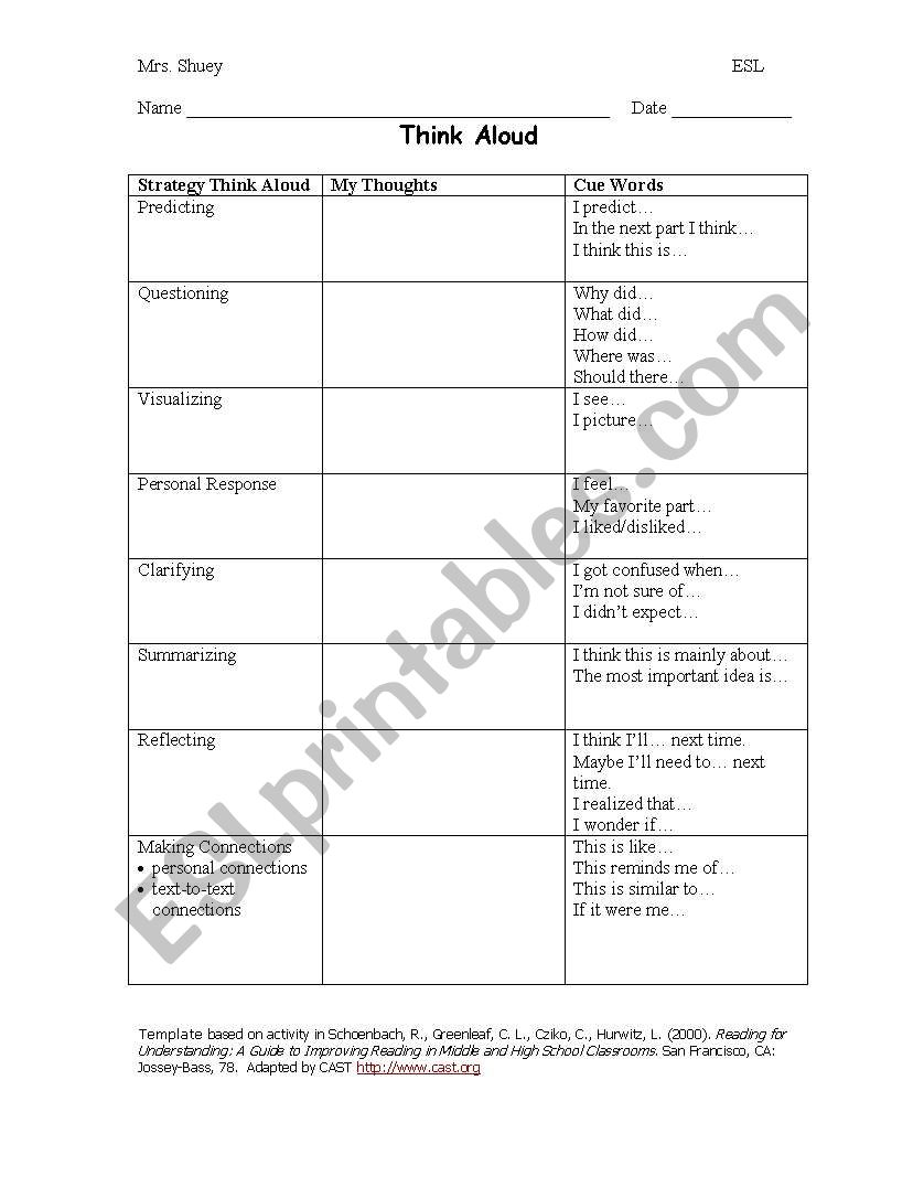 This is a picture of Making Connections Worksheet Printable within 5th grade