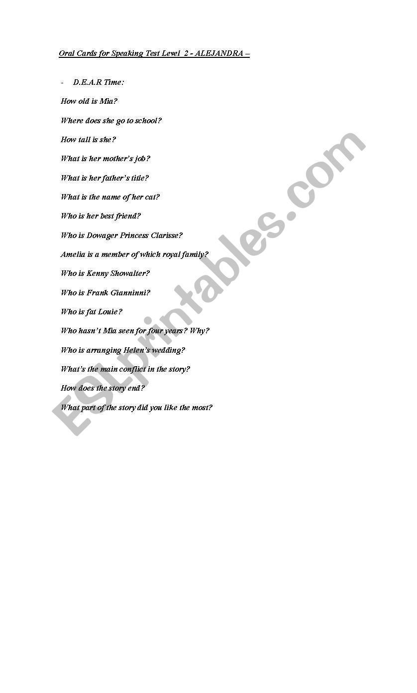 question making worksheet