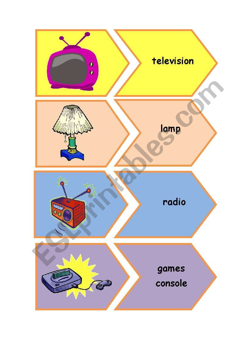 Electrical appliances flashcards
