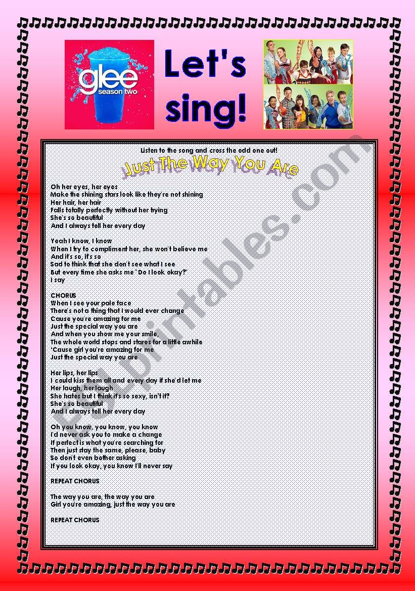 > Glee Series: Season 2! > SONGS FOR CLASS! S02E08 *.* FOUR SONGS *.* FULLY EDITABLE WITH KEY!