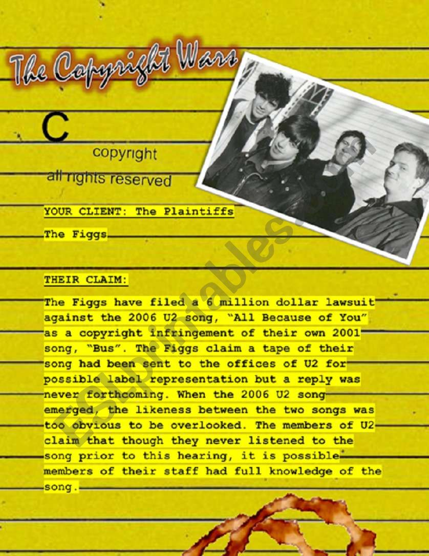 The Copyright Wars #4 - The Plaintiffs - (The Figgs)
