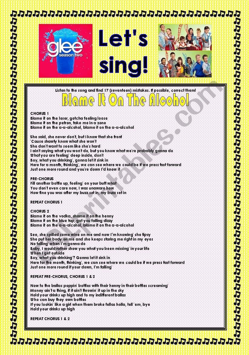 Glee Series: Season 2! > SONGS FOR CLASS! S02E14 * * FOUR