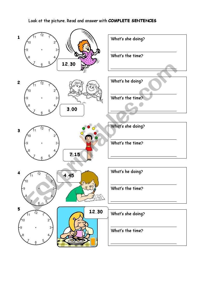 Elementary Revision for kids! worksheet