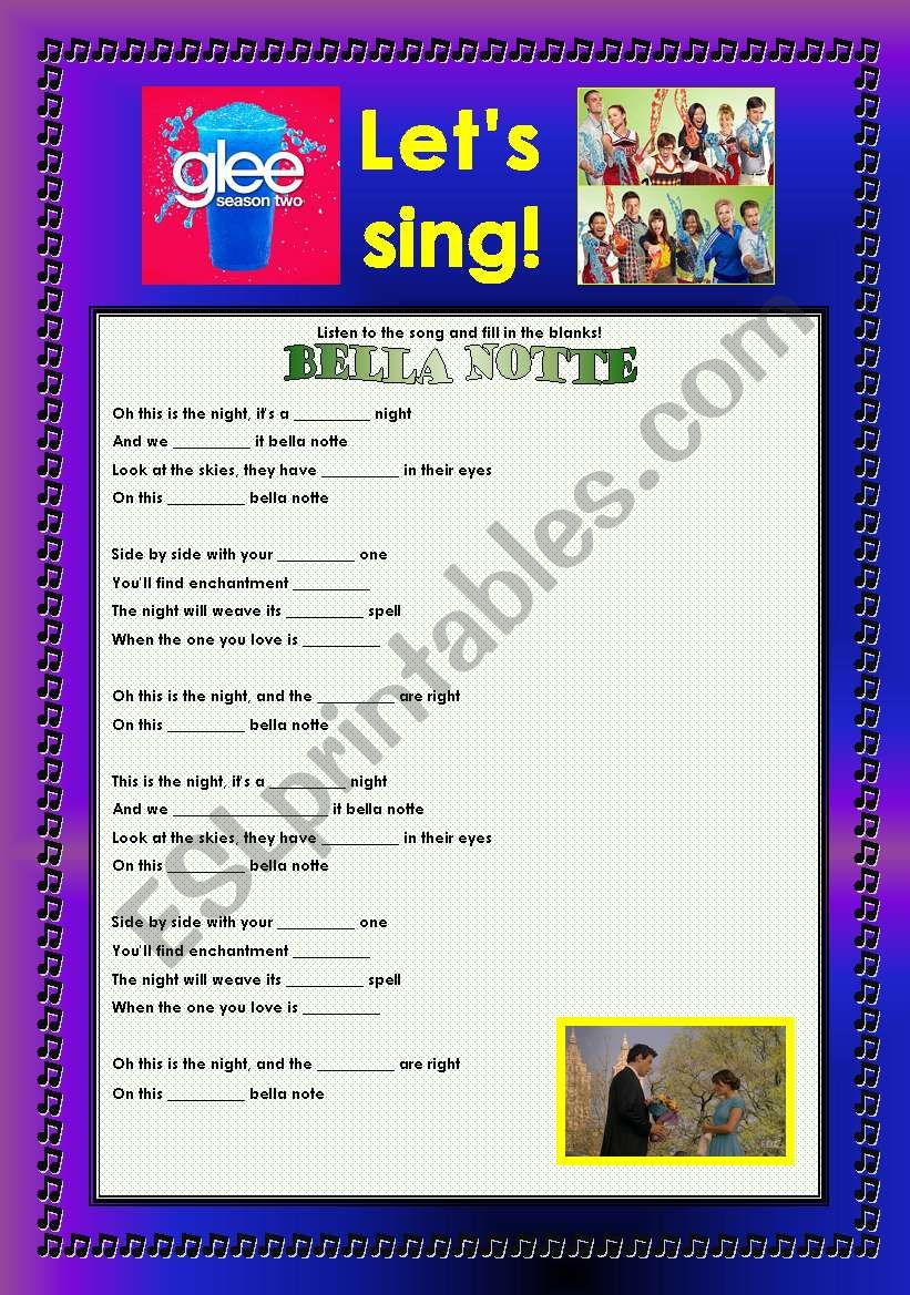 > Glee Series: Season 2! > Songs For Class! S02E22 ***** SEASON FINALE ***** *.* Three Songs *.* Fully Editable With Key! *.* Part 2/3