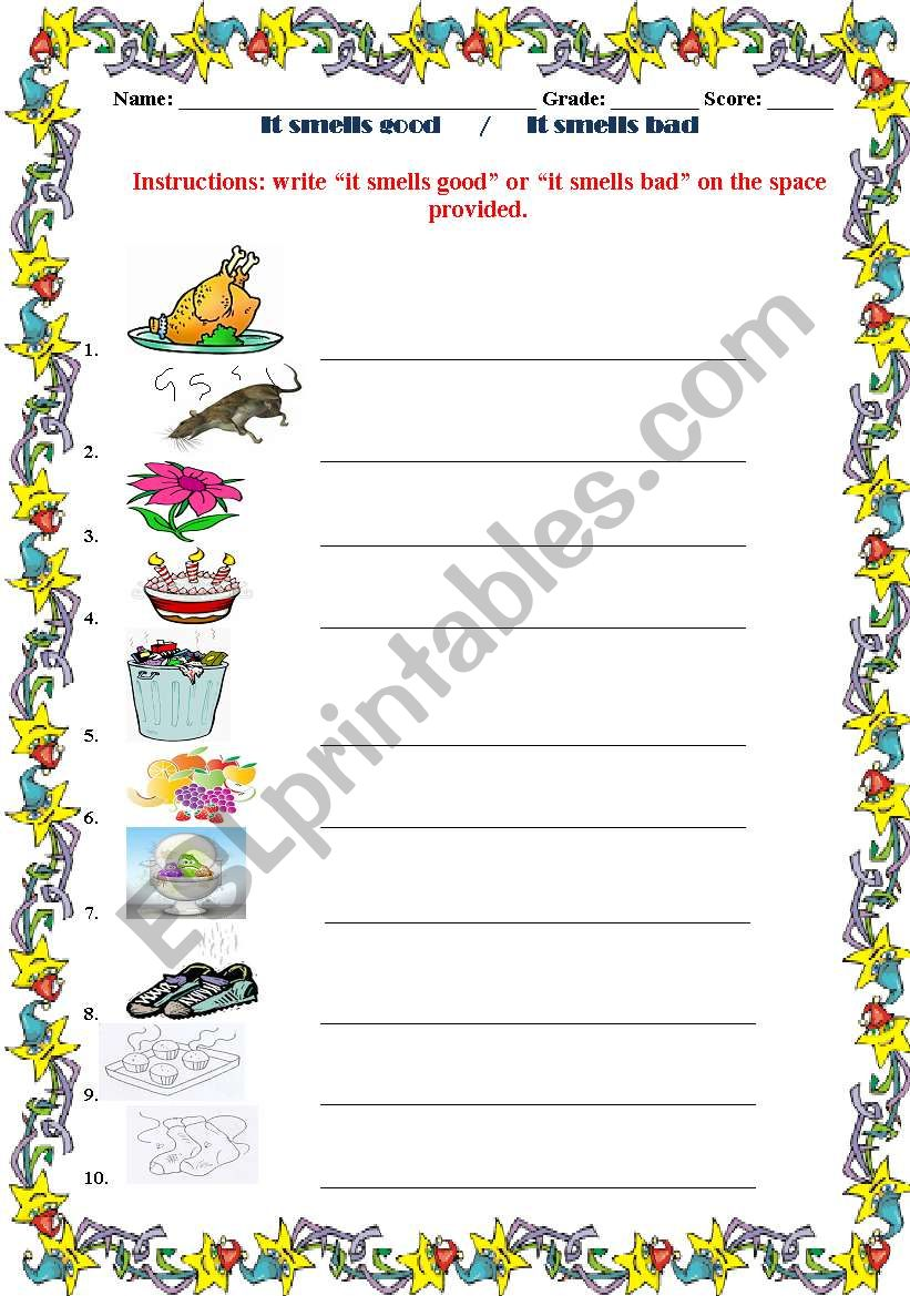 Kindergarten Online Books To Read For Free It smells good o...