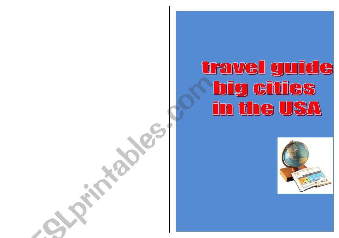 travel guide USA (easy version)