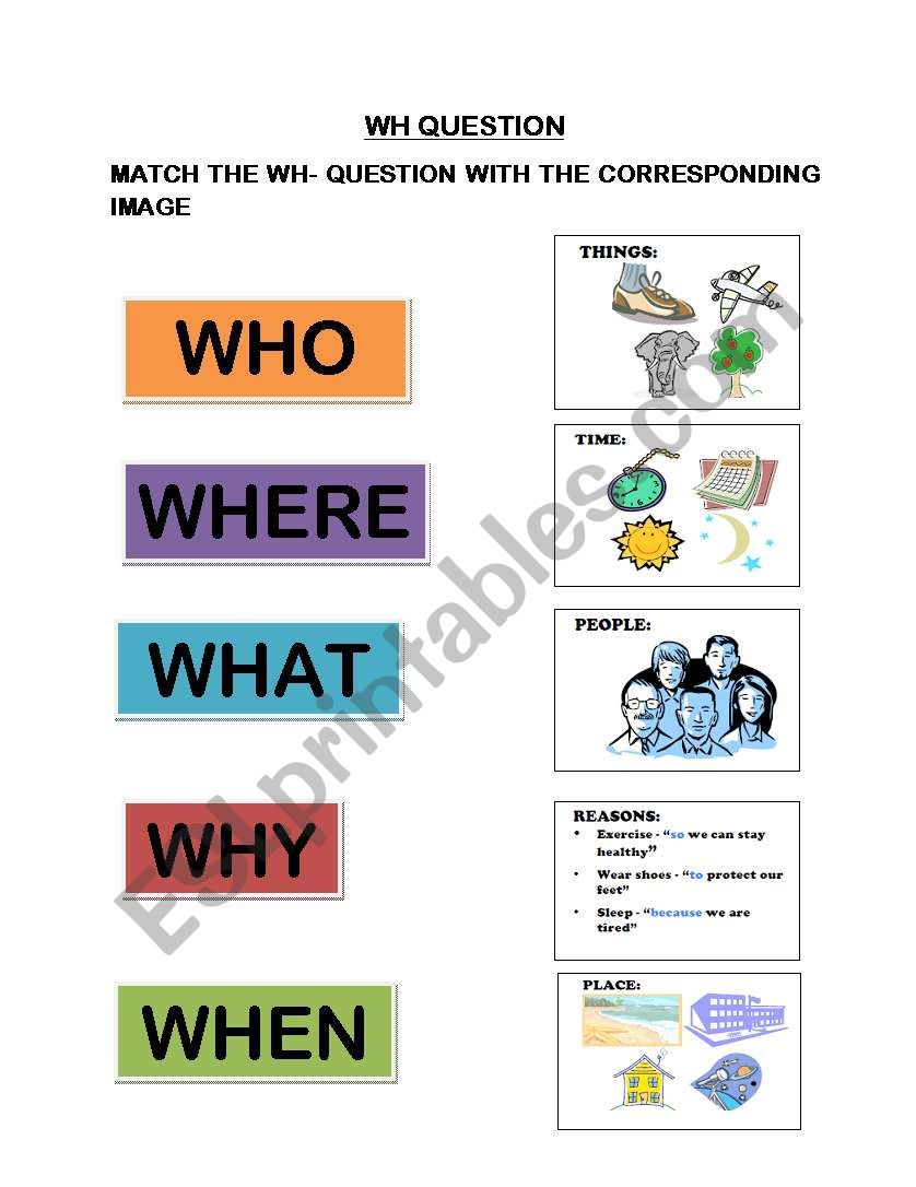 esl wh questions worksheet pdf