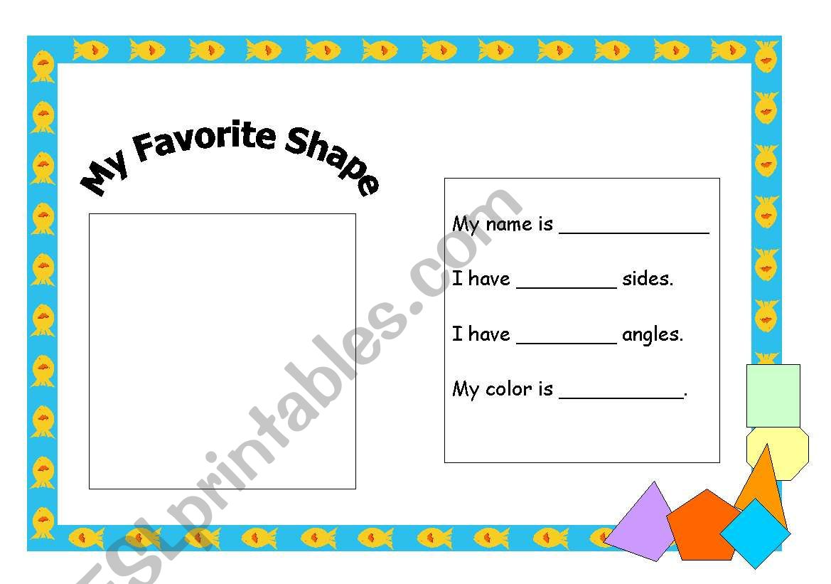 shape fact file worksheet