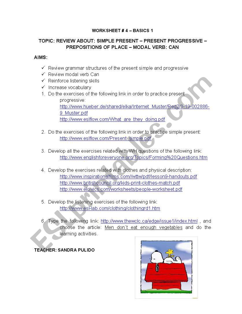 VIRTUAL WORK worksheet