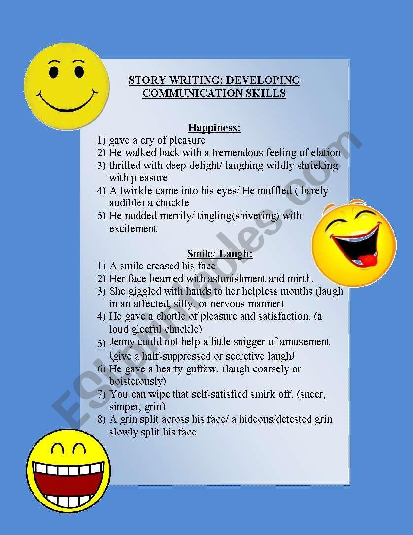 Communication Skills 2 worksheet