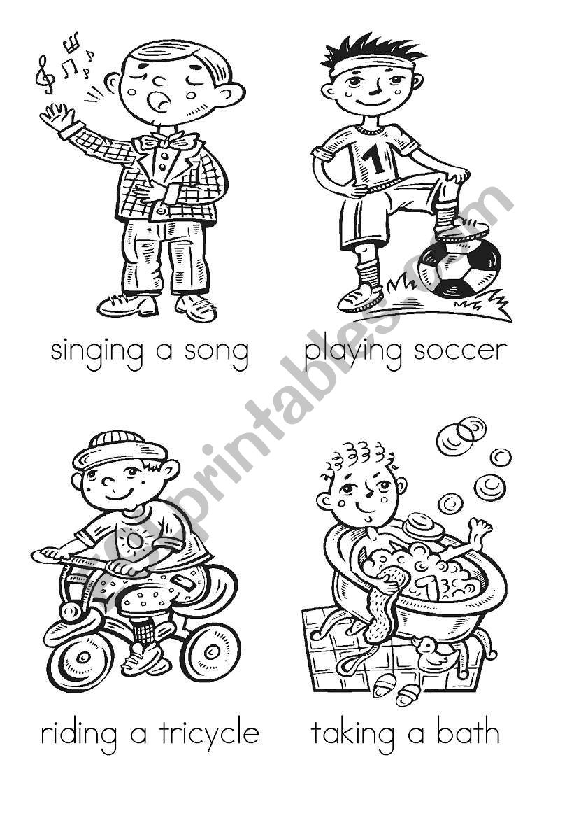 It�s a boy�s world flash cards (1-16 of 32) with backs, activities and instructions