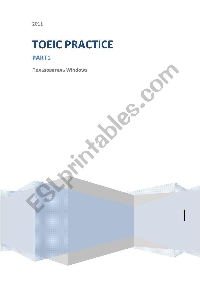 Exercises for TOEIC worksheet
