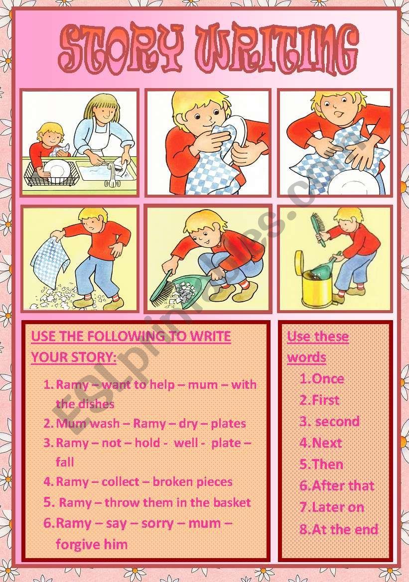 story writing worksheet
