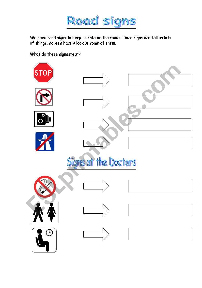 worksheet Signs And Symbols Worksheet english worksheets signs and symbols 2 worksheet