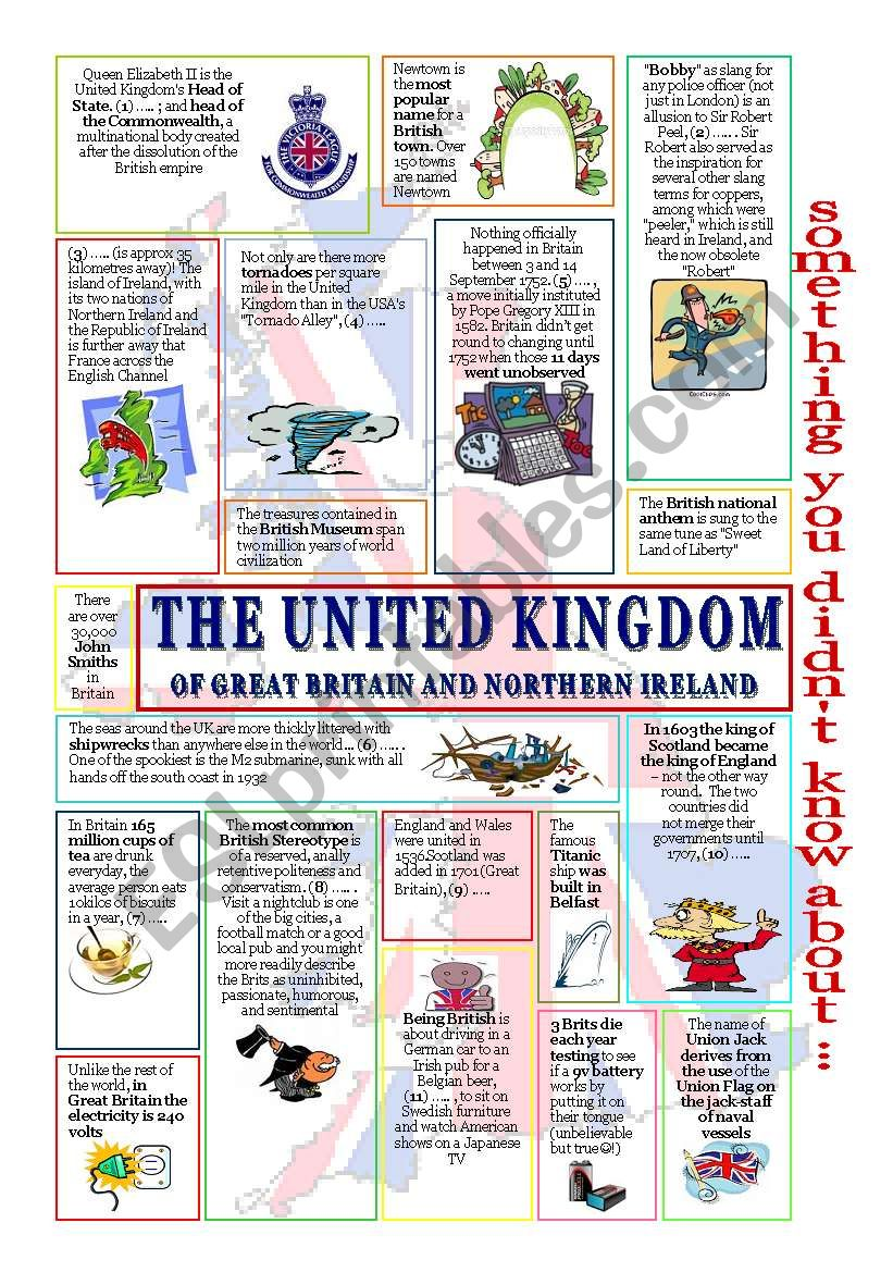 something u didn´t know about the UK