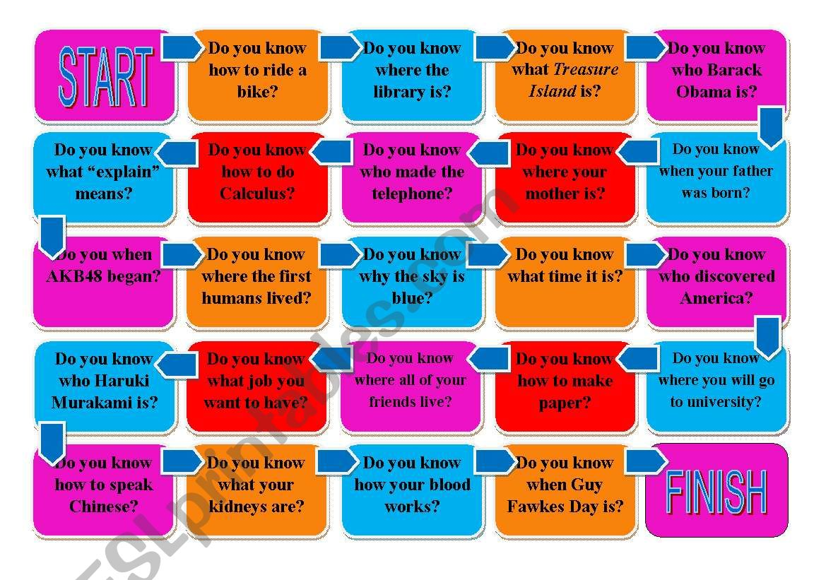 English Worksheets  Noun Clause With Question Word Do You