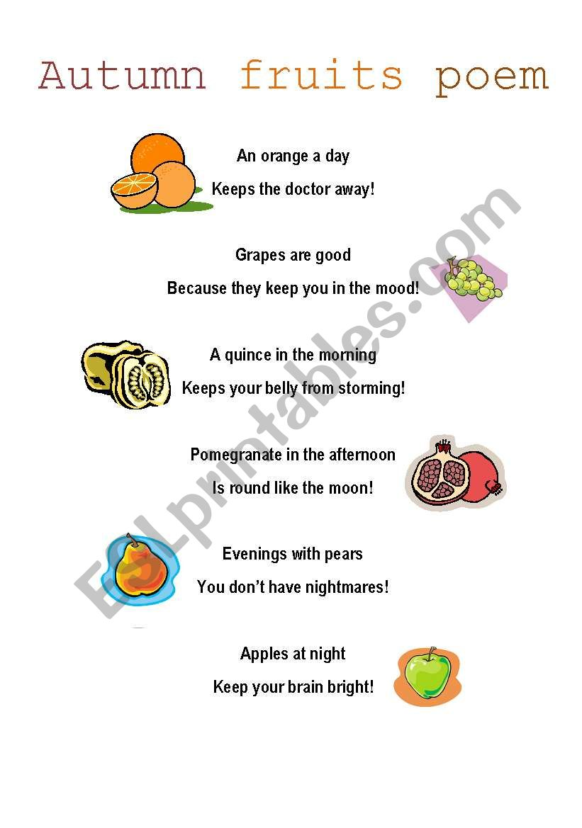parts of a poem pdf