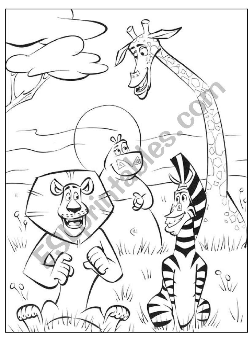 MADAGASCAR- ABC puzzle (READ the instructions!)-1st part