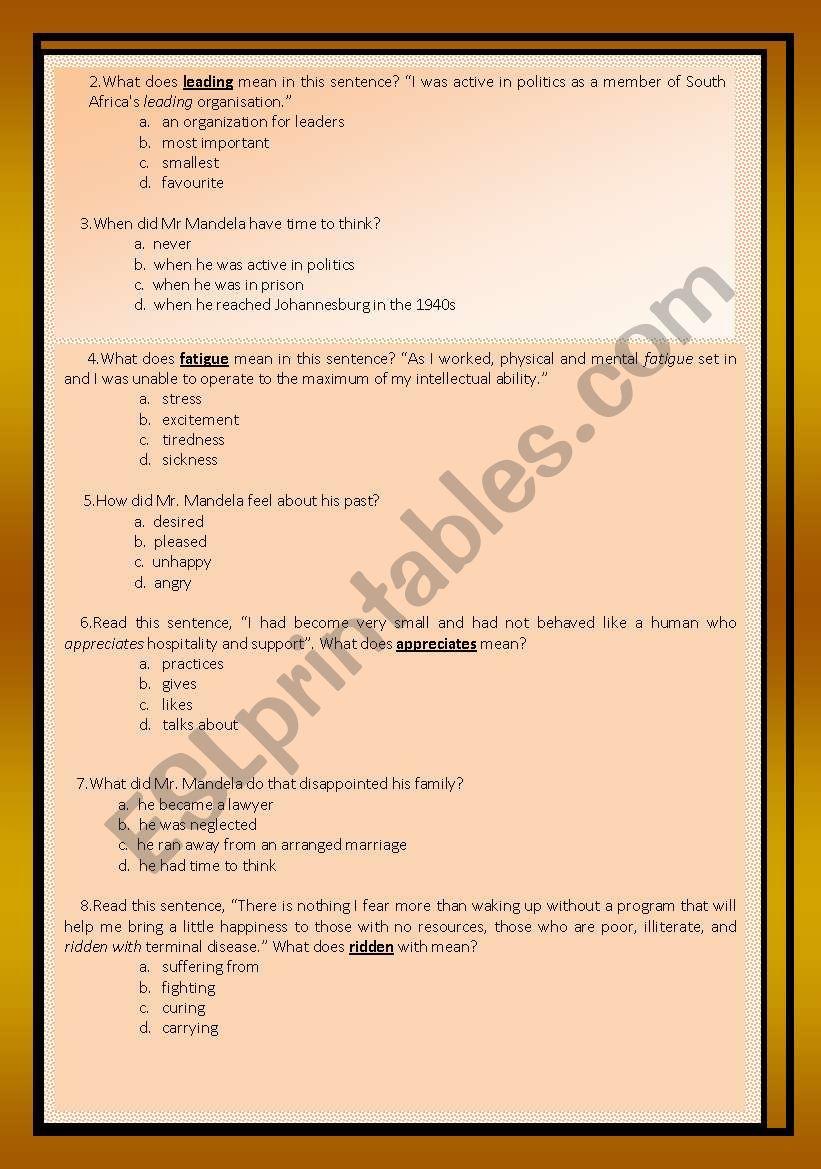 Reading comprehension (debate) - ESL worksheet by aaisha86