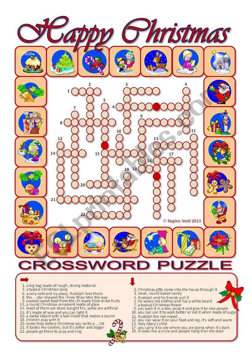 Advent Calendar _ X-Mas Puzzle (24 Words)