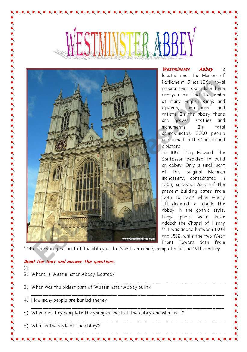 Postcards from London: Westminster Abbey