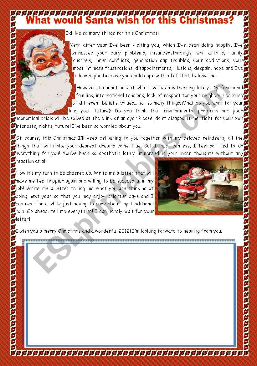 How to write a christmas wish letter type my finance dissertation hypothesis