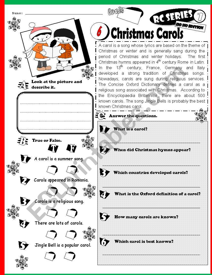 RC Series_HO HO Edition 06 Christmas Carols (Fully Editable + Key)