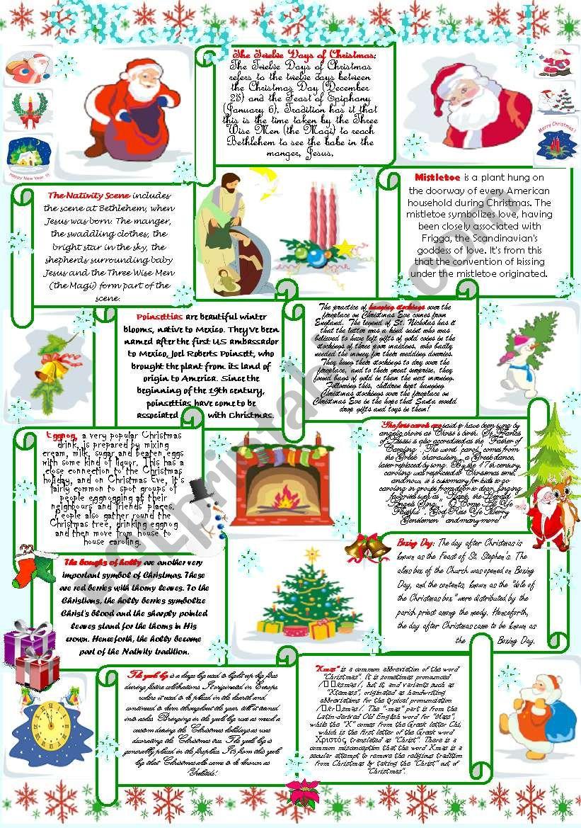 Merry Christmas! worksheet