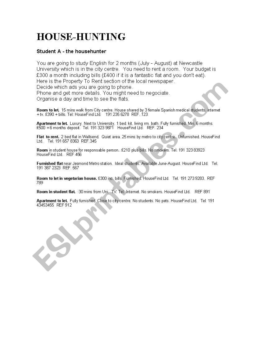 occupational english test sample role plays pdf