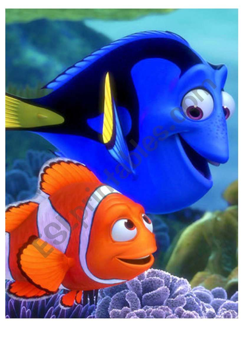 Finding Nemo - lovely puzzle with wild animals!!! (READ THE INSTRUCTIONS)