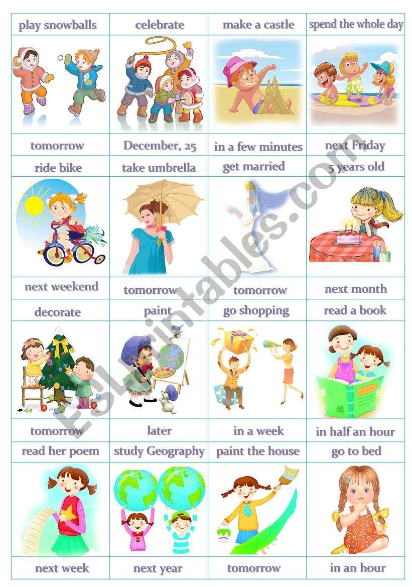 Speaking Cards - Future Simple