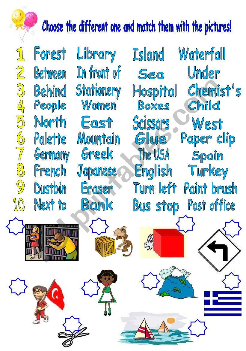 ws for 5th grade students - ESL worksheet by remziye