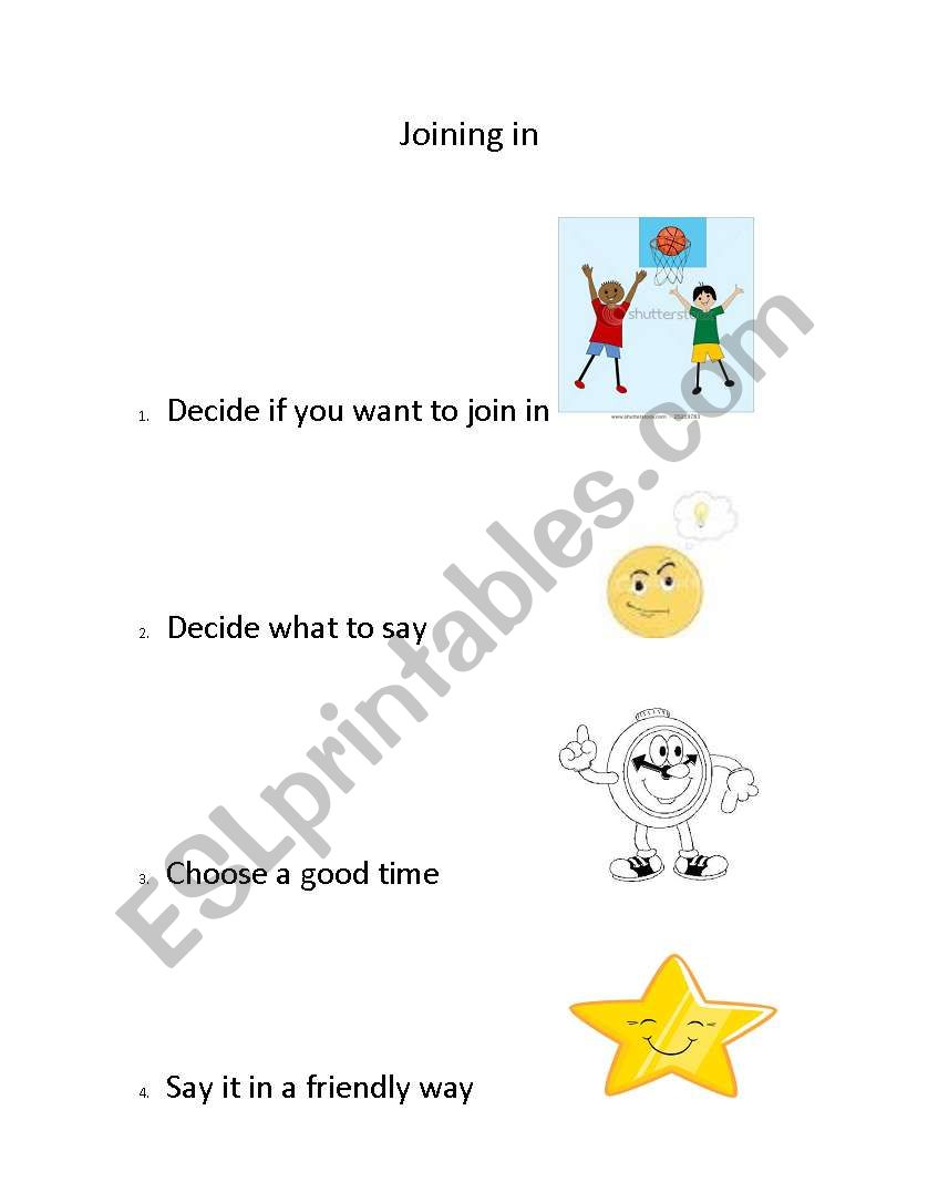 Joining in worksheet