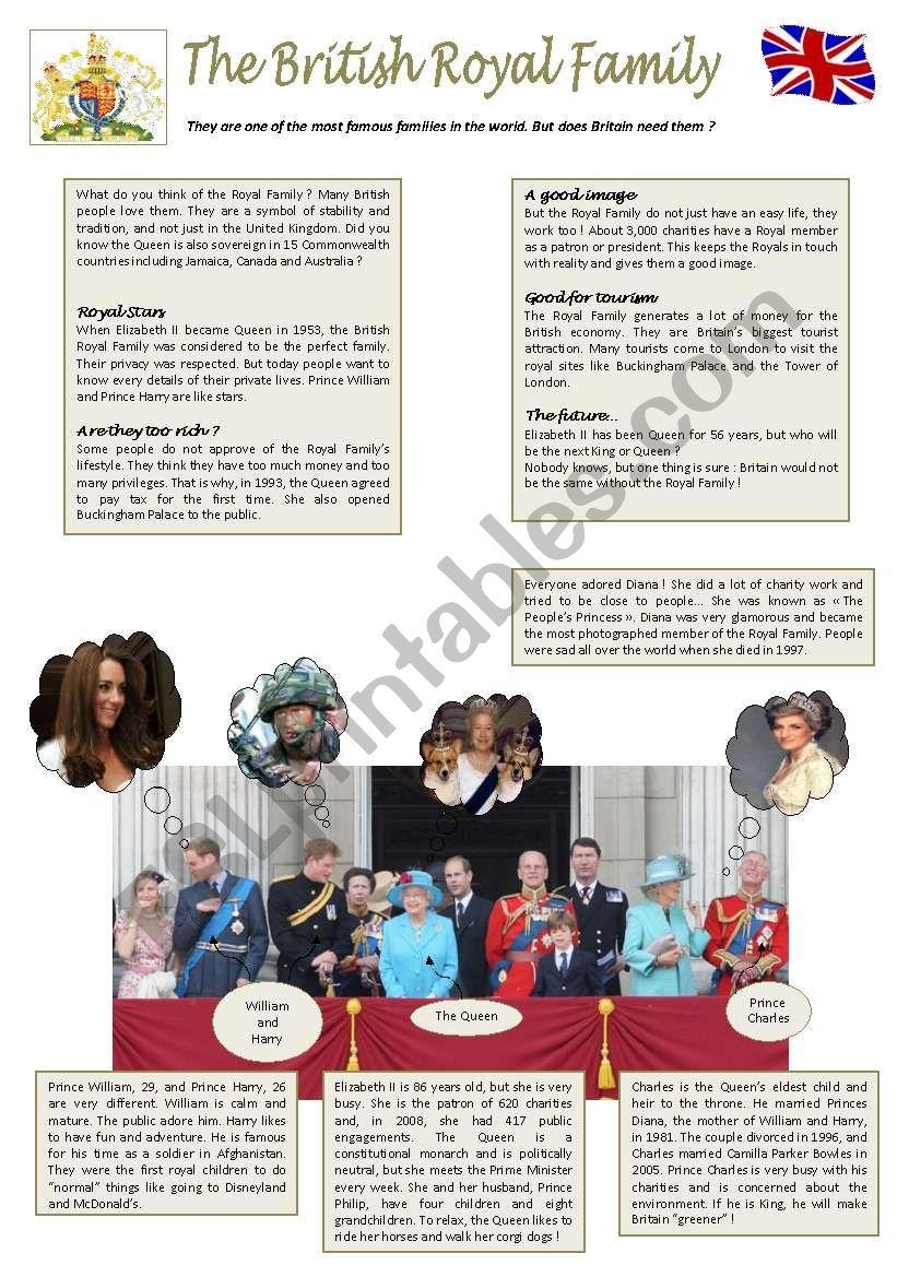 The British Royal Family ( 4/6 )