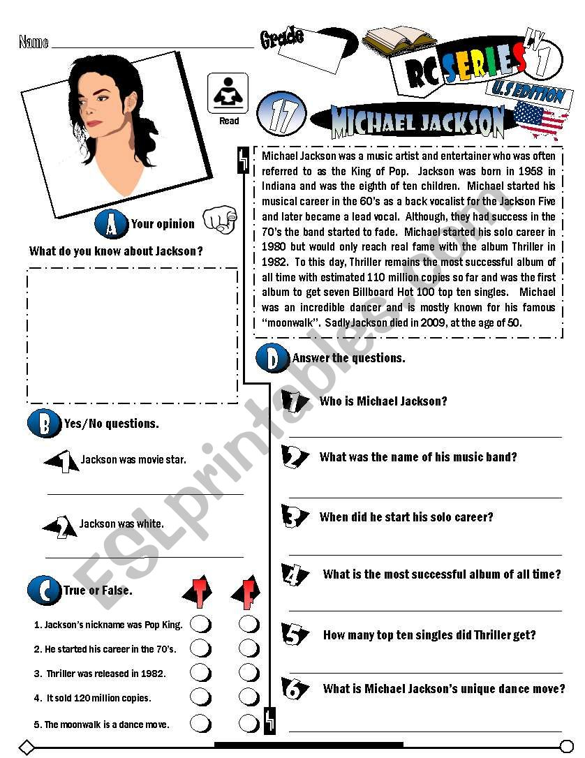RC Series_U.S Edition_17 Michael Jackson (Fully Editable + Key)