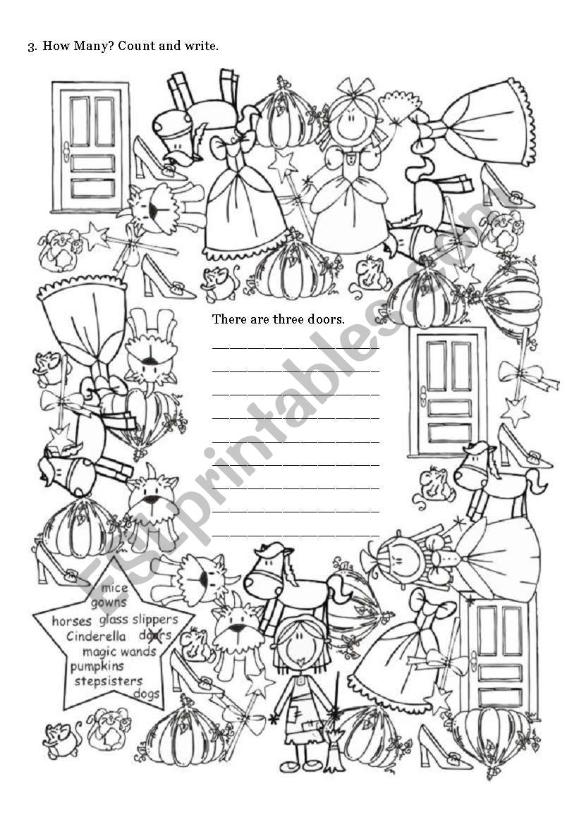 Cinderella 2 of 3 worksheet