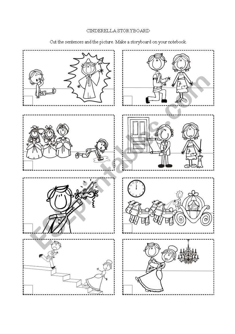 Cinderella 3 of 3 worksheet