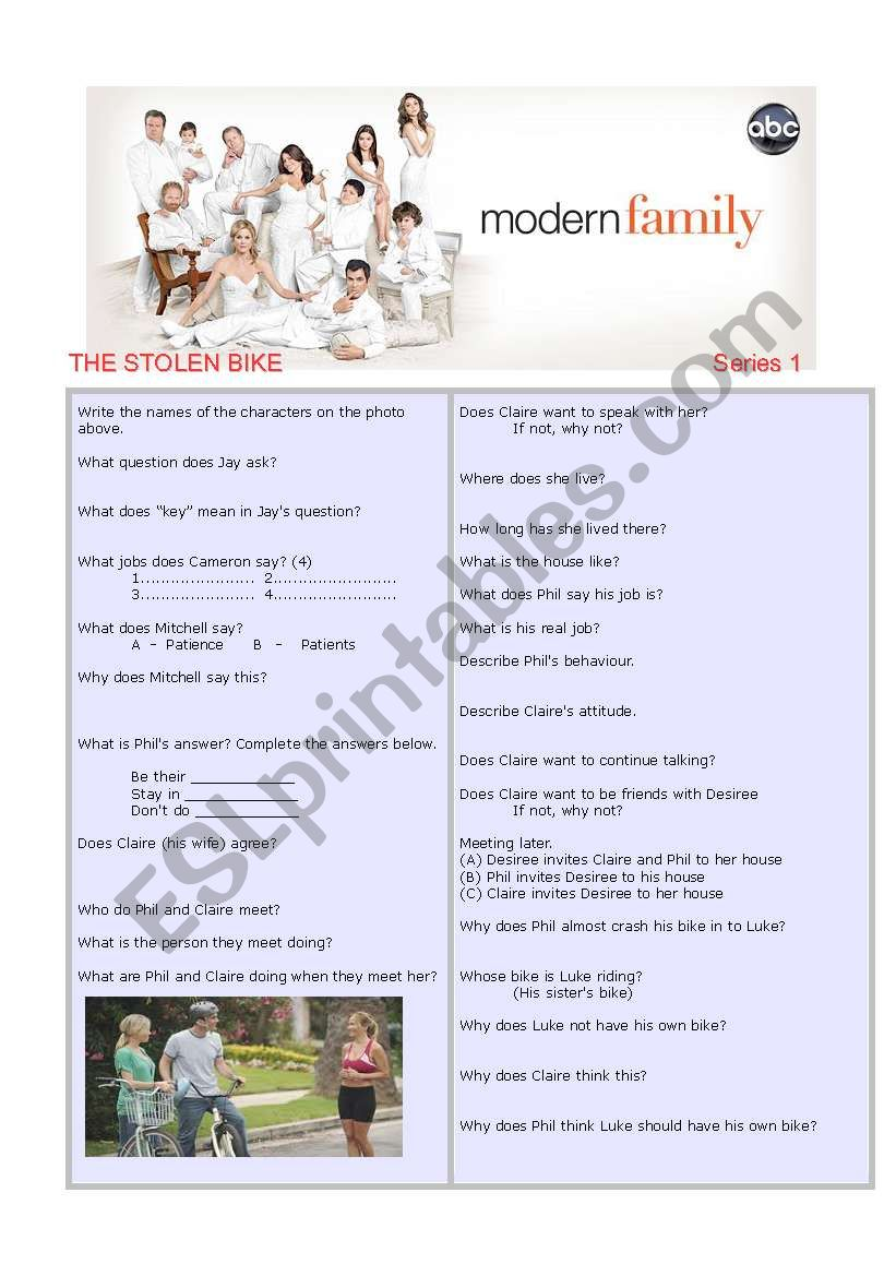 Modern Family Series 1 Episode 2