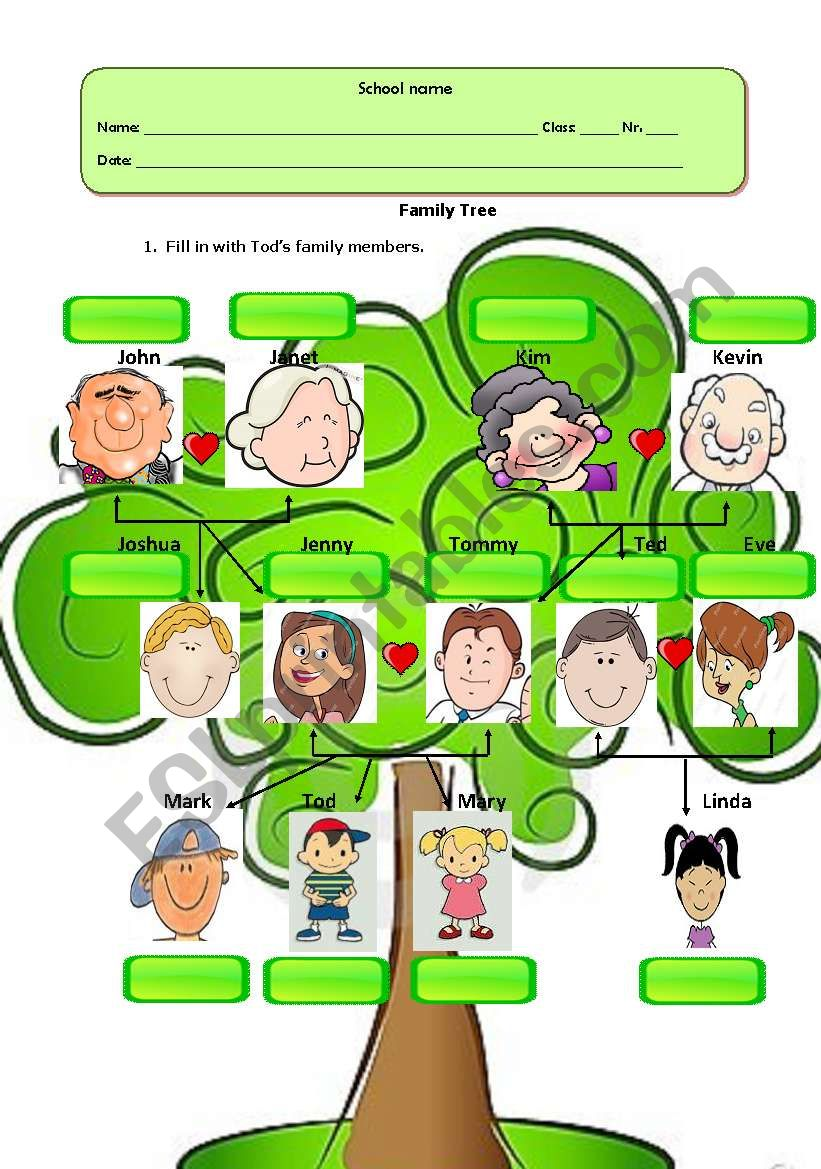 This is a graphic of Versatile Pics of Family Trees