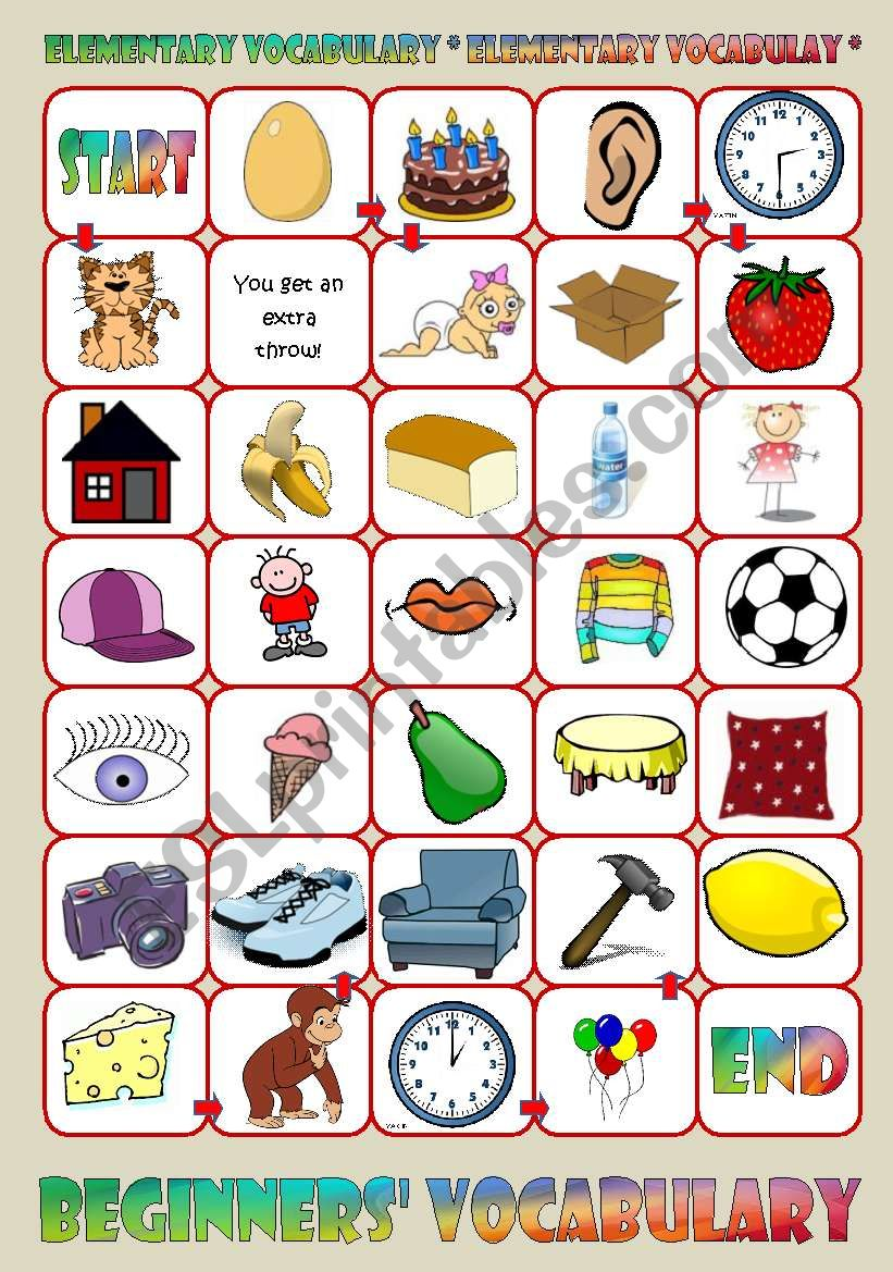 Terrible image throughout printable vocabulary games
