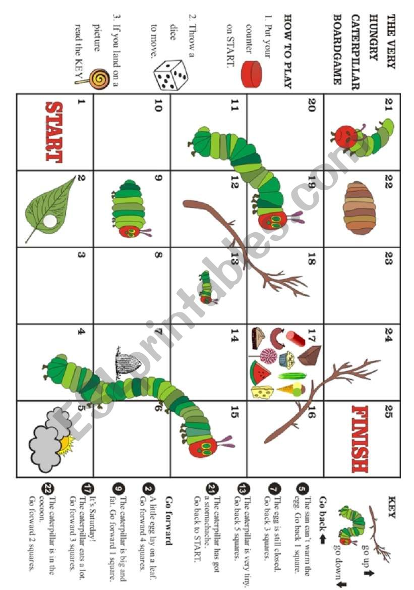 The very hungry caterpillar - Boardgame