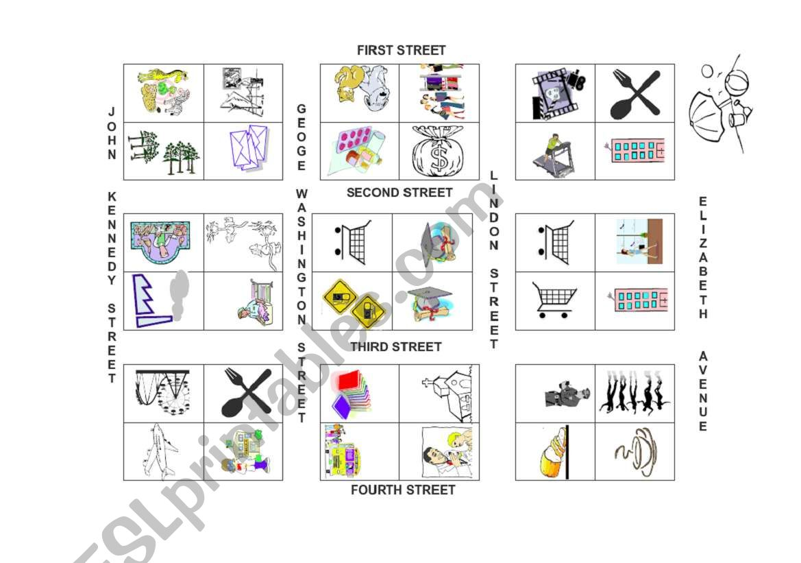 Map worksheet