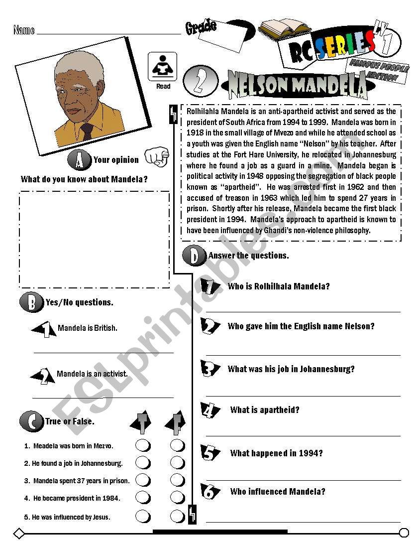 RC Series Famous People Edition_02 Nelson Mandela (Fully Editable)