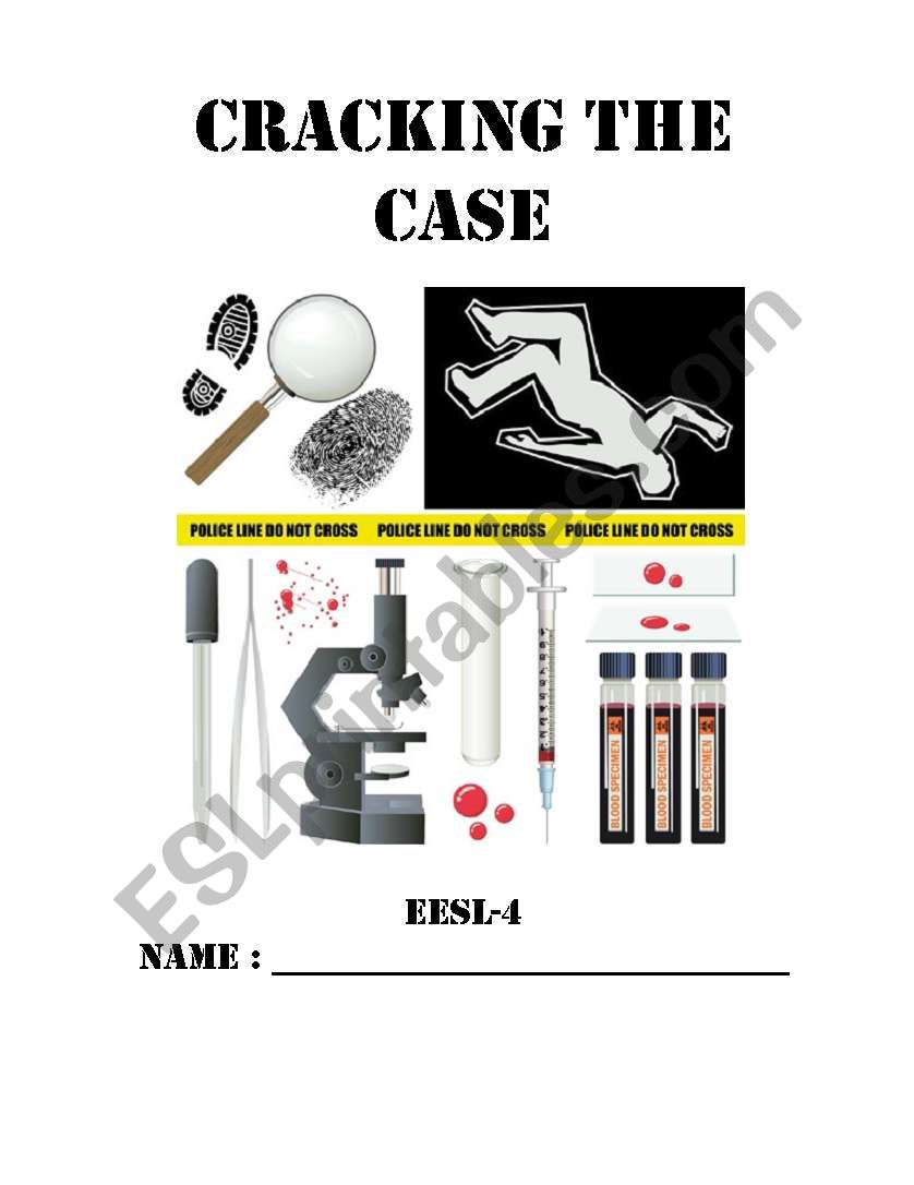 Cracking the case Part 1 worksheet