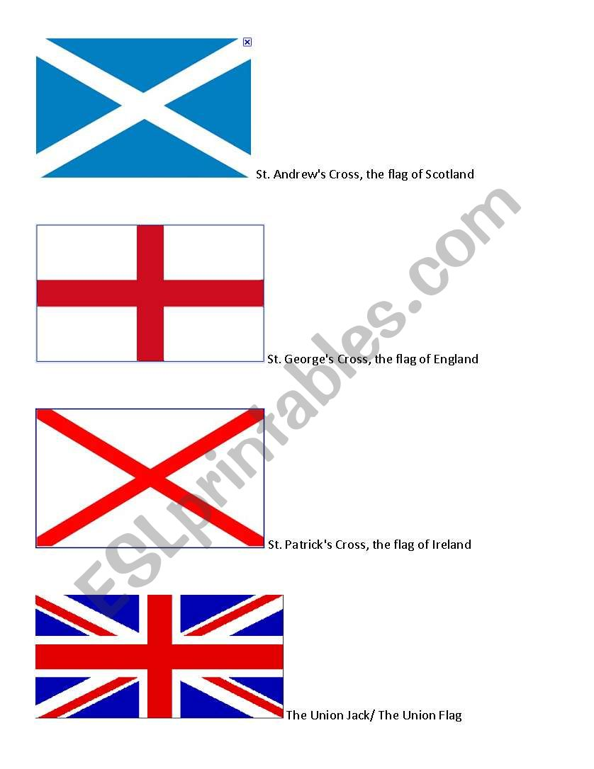 The making of the Union Jack worksheet