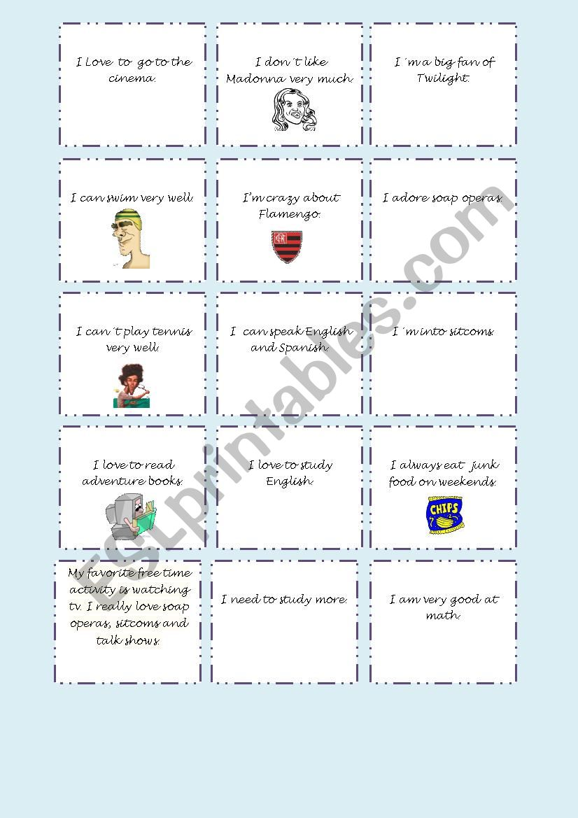 Me Too Me Neither Esl Worksheet By Barbarachiote