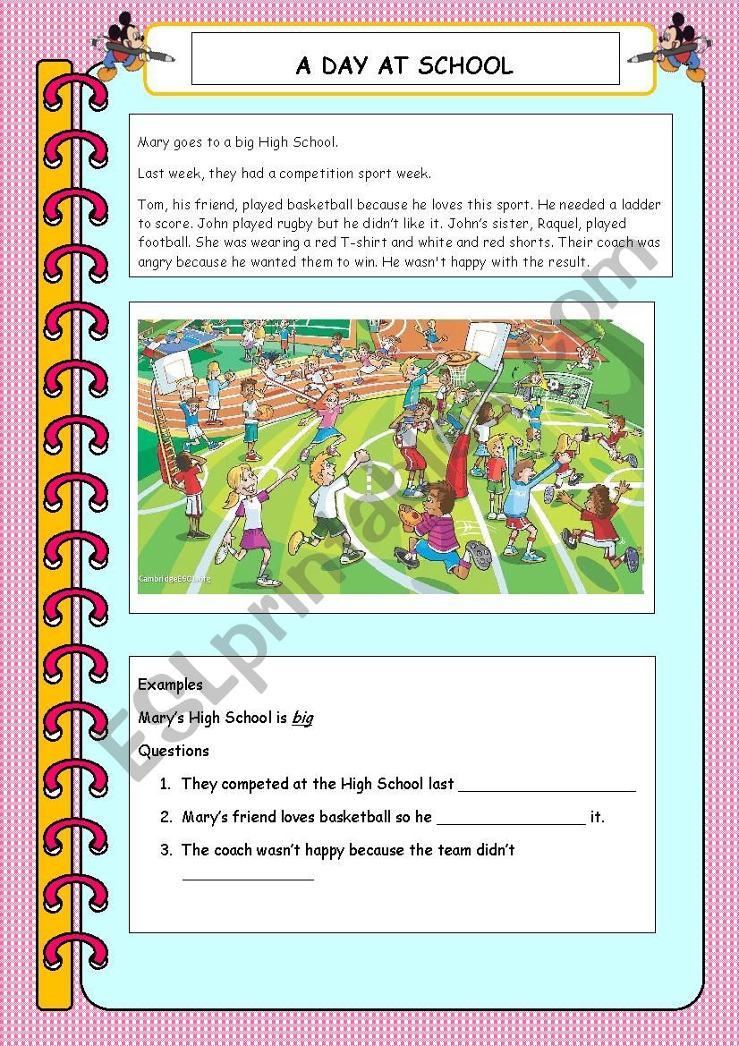 movers part 5 elementary reading