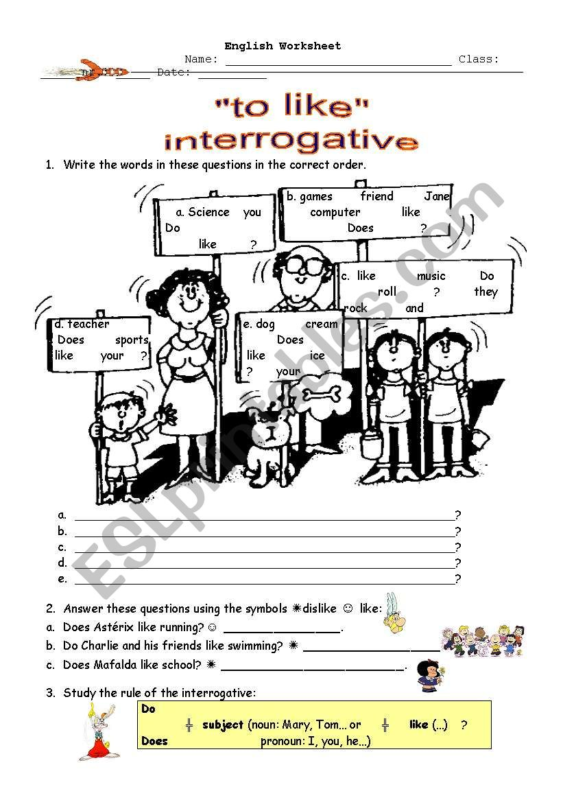 Interrogative of